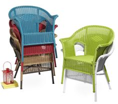 These casual Casbah Chairs are the perfect patio addition