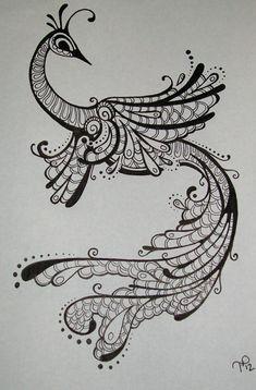 Ink Drawing Black & White