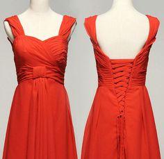 Custom make Vintage Wedding Dress A LINE Bridal Gown by wonderxue, $168.00