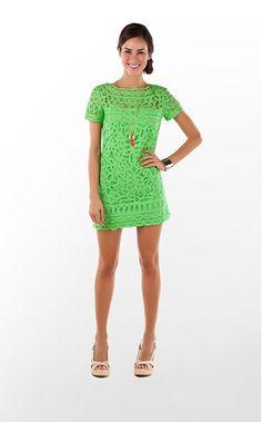 MarieKate Dress in New Green Go To Batt $378 (w/o 5/13/12) #lillypulitzer #fashion #style