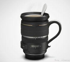 camera lens mug - I WANT IT!