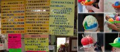 One of Oahu's most popular shave ice shops, Matsumoto's Shave Ice serves colorful, cool Hawaiian treats to nearly one thousand people every day.  Da best!