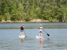 Paddle boarding on G