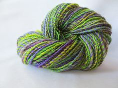 Handspun Yarn / Hand Spun Hand Dyed Yarn / by FiberCreationStudio, $30.00