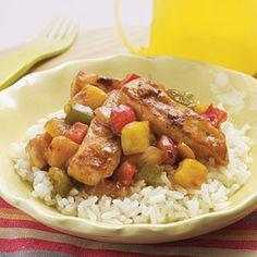 Sweet-and-Sour Chicken | MyRecipes.com