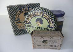 Vintage Makeup Hair Dressing Bleaching Cream