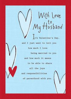 happy valentines husband messages
