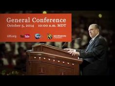 I'll be watching! Check it out!  Join Us for General Conference - YouTube