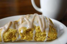 Starbucks Pumpkin Scone!
