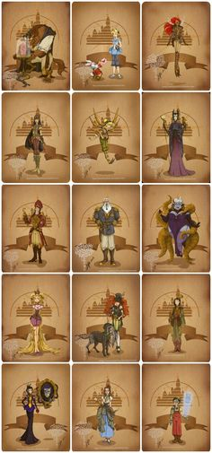 #Disney Steampunk // 10 Amazing Artist Renditions of Disney Characters