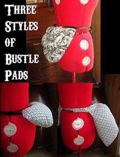 Steam Ingenious: New Pattern for Sale: Bustle Pad or Pillow