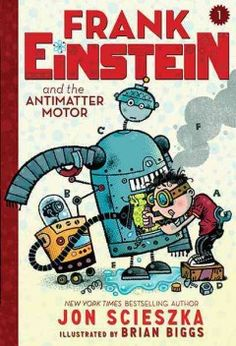 In his Grandpa Al's garage workshop, child genius Frank Einstein tries to invent a robot that can learn on its own, and after an accident brings wisecracking Klink and overly expressive Klank to life, they set about helping Frank perfect his Antimatter Motor until his archnemesis, T. Edison, steals the robots for his doomsday plan.