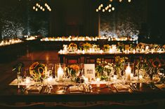 candle light reception