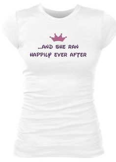 Too cute...possible post run (and shower) top to wear while enjoying the parks after my Disney Princess Run!