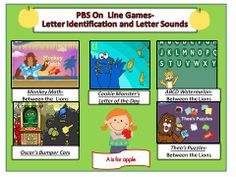 more online games for letter identification and sounds