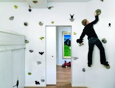this is what my kids need....then they can literally climb the walls!!!