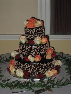 """That's a """"busy"""" chocolate cake"""