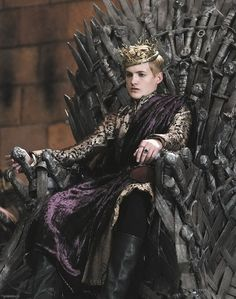 Joffrey Baratheon on the Iron Throne ~ Game of Thrones