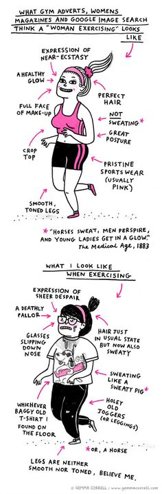 Girls working out...OMG this is me.