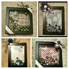 Shadow boxes...