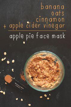 DIY: apple pie face mask