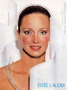 Karen Graham for Lancome 1982
