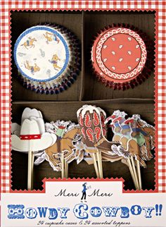 Quick & Easy Cowboy Cupcakes