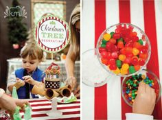 Christmas tree decorating for kids- use frosting and sugar cones!