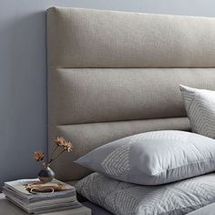 Panel-Tufted Headboard from west elm #Sweet Dreams Sweepstakes