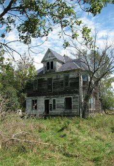 Forgotten Old Farm House