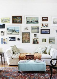 The first gallery wall I feel inspired by! <3!