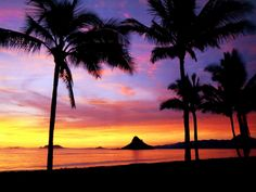 #sunset #Hawaii colours are just awesome