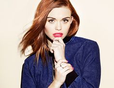 Love these nail/lip trends for spring! @Byrdie Beauty - Teen Wolfs Holland Roden Test Drives Springs Coolest Colors
