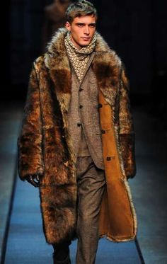 Genealogical-Tailored Menswear - The Berluti 2013 F/W Mens Collection Takes Cues from History (GALLERY)