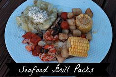 simple seafood grill packs