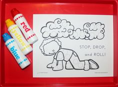Farie Safety paint dauber sheets have been added to the 1 - 2 - 3 Learn Curriculum web site. Under the fire safety link. Thank youf or viewing and pinning. Jean 1 - 2 - 3 Learn Curriculum
