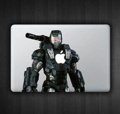 Black Iron Man 13 Macbook Decal Macbook Sticker Air by SoldforLess, $19.99
