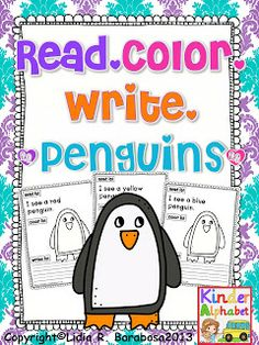 Freebielicious Penguin fun freebie and Spanish too!