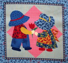 amish quilting - for children