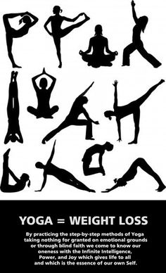 YOGA = WEIGHT LOSS
