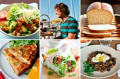 Lunches Under 400 Calories, Kitchen on a Boat & Make-Ahead Frozen Wraps