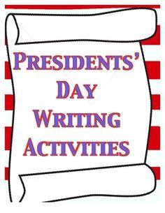 Presidents' Day Writing ActivitiesActivities included are:George Washington Circle MapAbraham Lincoln Circle MapVenn Diagram Comparing Wash...