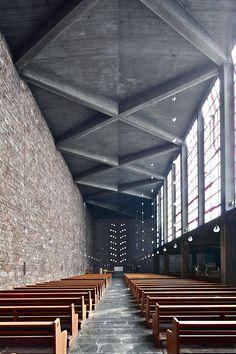 Church of Sta Anna, Düren, Germany :: Rudolf Schwarz.