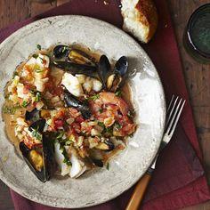 Mediterranean Seafood Stew | G-Free Foodie #GlutenFree