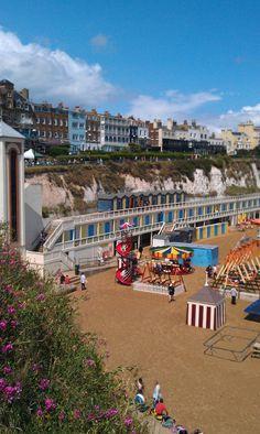 Broadstairs beach, Kent, UK