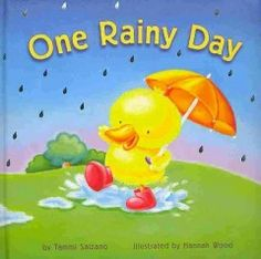 March 11 & 12, 2014. Scenes from a rainy day teach colors.