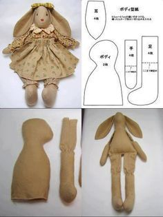 patterns, easter crafts, mold coelha, dresses, aprons, ears, bows, kids, easter bunny