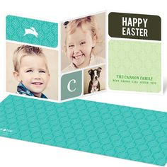 Easter Cards -- Bunnies and Blocks #eastercardideas #easterideas #spring #peartreegreetings easter card