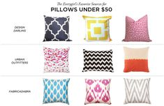 decor, pillow sourc, project idea, hous idea, sweet design, design concept, apart, pillows