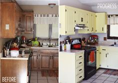 cabinet makeovers, paint cans, kitchen makeovers, colors, paint cabinet, painted cabinets, kitchen renovations, black, kitchen cabinets
